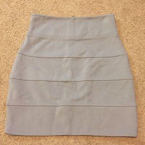 Talula 4 gray skirt knee length